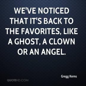 We've noticed that it's back to the favorites, like a ghost, a clown or an angel.
