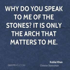 kublai khan quotes