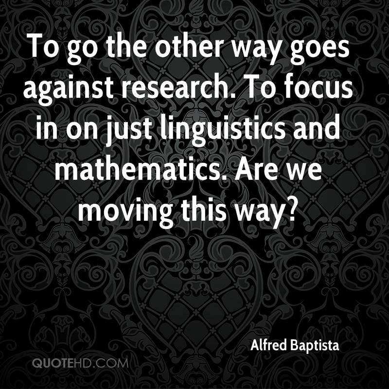Mathematics and linguistics