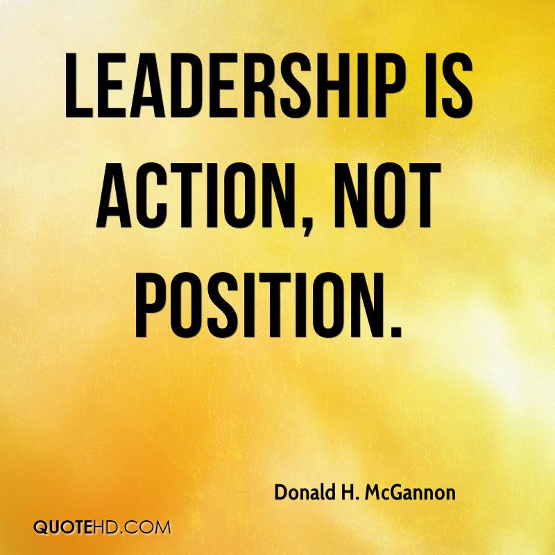 leadership position essay Essay on leadership posted on april 28, 2013 by essayshark introduction leadership roles in every organization tend to vary with the position that a supervisor holds in the management structure.