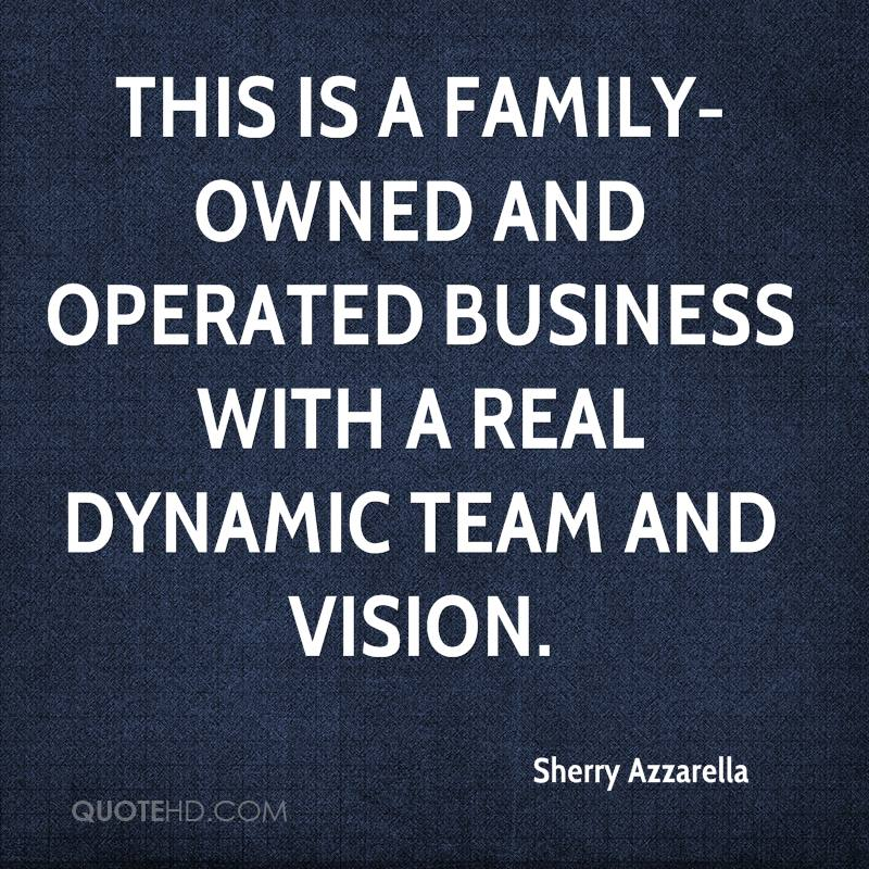 Merveilleux This Is A Family Owned And Operated Business With A Real Dynamic Team And  Vision