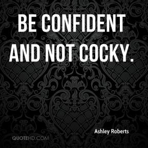 How To Be Confident But Not Cocky