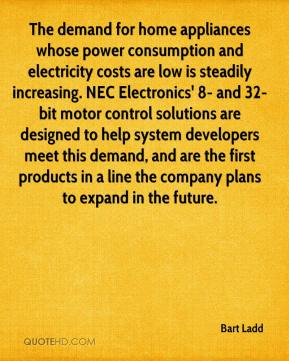Bart Ladd - The demand for home appliances whose power consumption and electricity costs are low is steadily increasing. NEC Electronics' 8- and 32-bit motor control solutions are designed to help system developers meet this demand, and are the first products in a line the company plans to expand in the future.