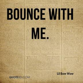 Lil Bow Wow  - Bounce With Me.
