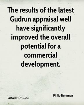 Philip Behrman  - The results of the latest Gudrun appraisal well have significantly improved the overall potential for a commercial development.