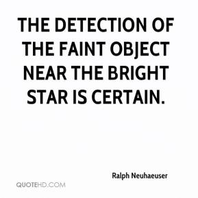 Ralph Neuhaeuser  - The detection of the faint object near the bright star is certain.