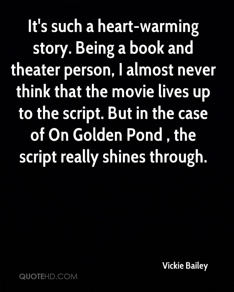 On Golden Pond Quotes Vickie Bailey Quotes  Quotehd