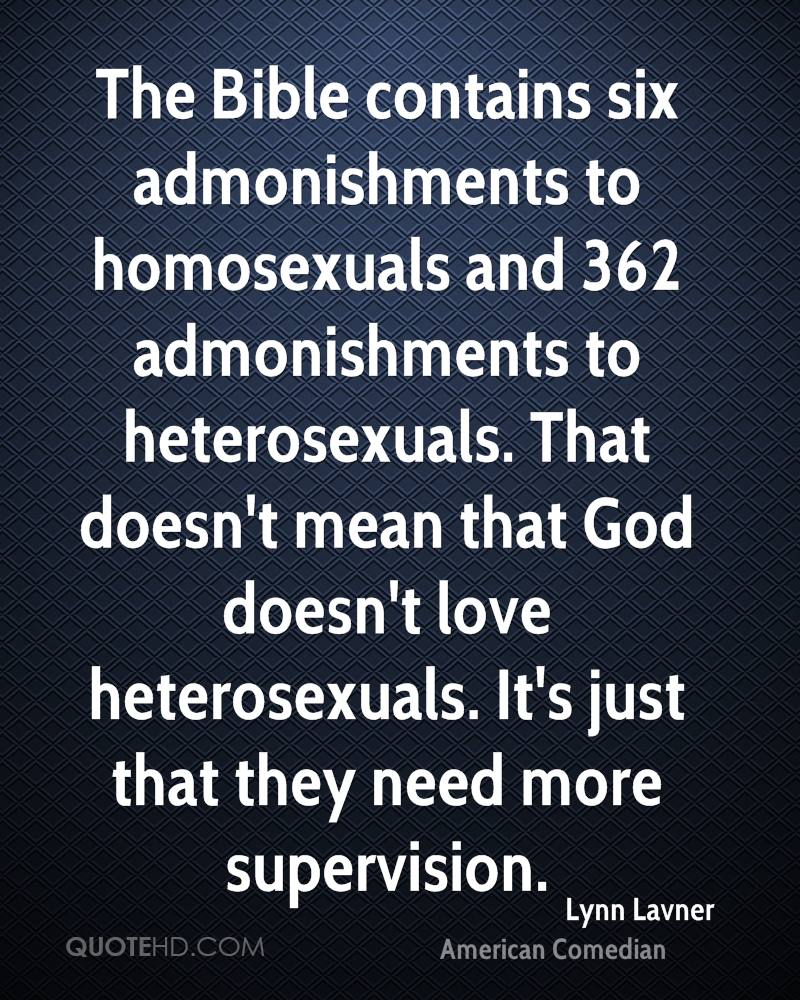 The bible homosexual relationships and
