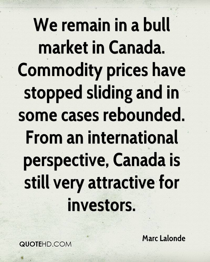 Commodity Quotes Marc Lalonde Quotes  Quotehd