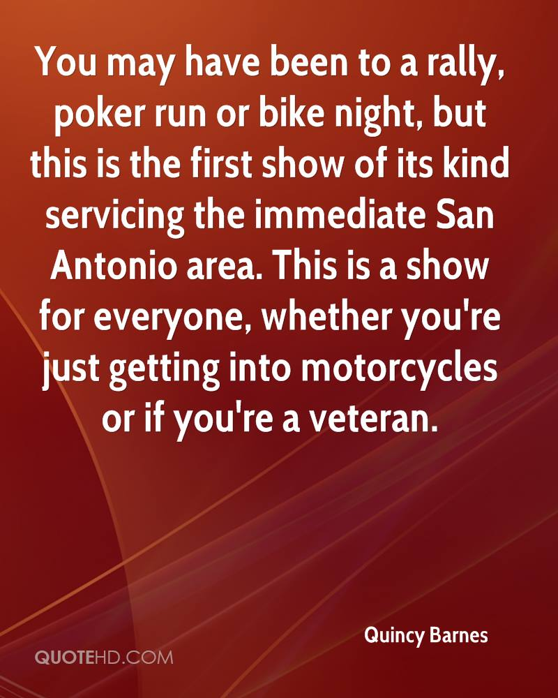 You may have been to a rally, poker run or bike night, but this is the first show of its kind servicing the immediate San Antonio area. This is a show for everyone, whether you're just getting into motorcycles or if you're a veteran.