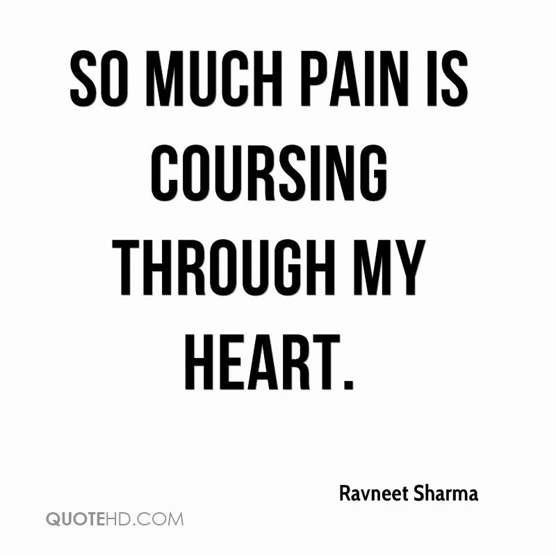 Sad Quotes About Love: Ravneet Sharma Quotes
