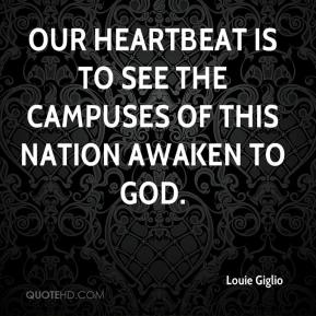Our heartbeat is to see the campuses of this nation awaken to God.