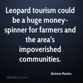 Quinton Martins  - Leopard tourism could be a huge money-spinner for farmers and the area's impoverished communities.