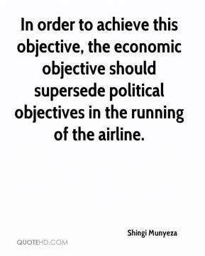 Shingi Munyeza  - In order to achieve this objective, the economic objective should supersede political objectives in the running of the airline.