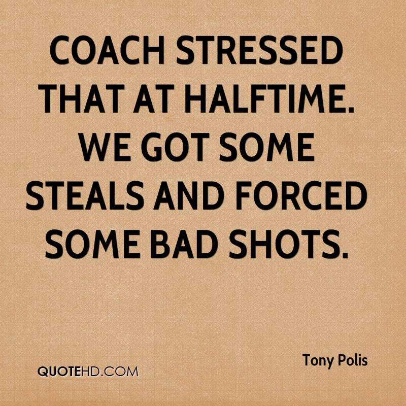 Coach stressed that at halftime. We got some steals and forced some bad shots.