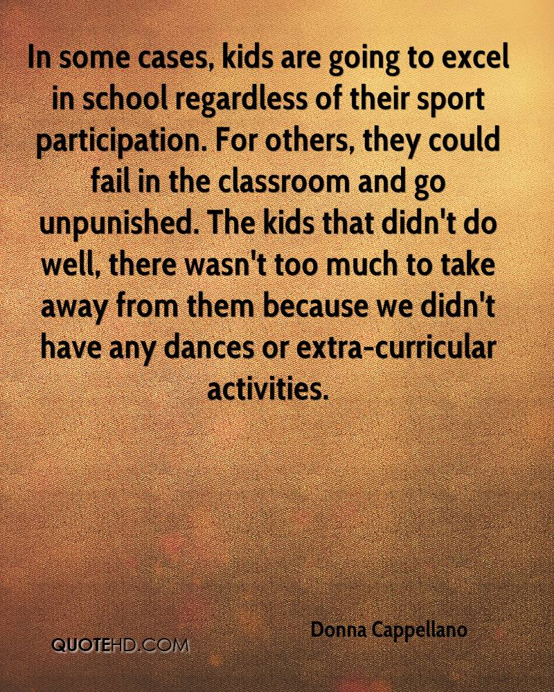 quotes on extracurricular activities in schools