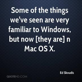 Ed Skoudis - Some of the things we've seen are very familiar to Windows, but now [they are] n Mac OS X.