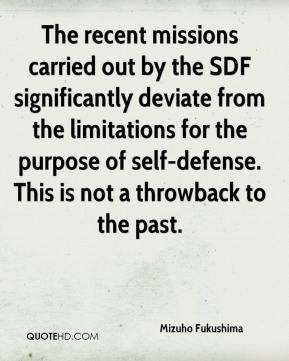 Mizuho Fukushima  - The recent missions carried out by the SDF significantly deviate from the limitations for the purpose of self-defense. This is not a throwback to the past.