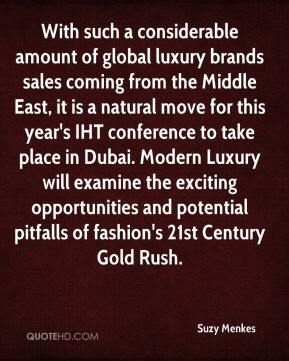 With such a considerable amount of global luxury brands sales coming from the Middle East, it is a natural move for this year's IHT conference to take place in Dubai. Modern Luxury will examine the exciting opportunities and potential pitfalls of fashion's 21st Century Gold Rush.
