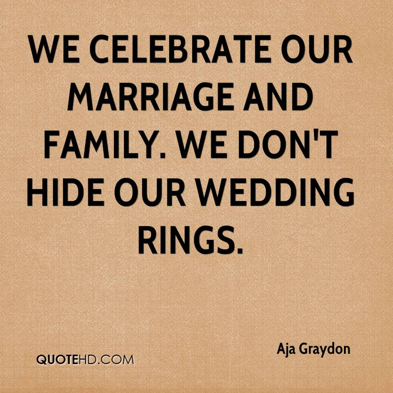 Aja Graydon Marriage Quotes QuoteHD