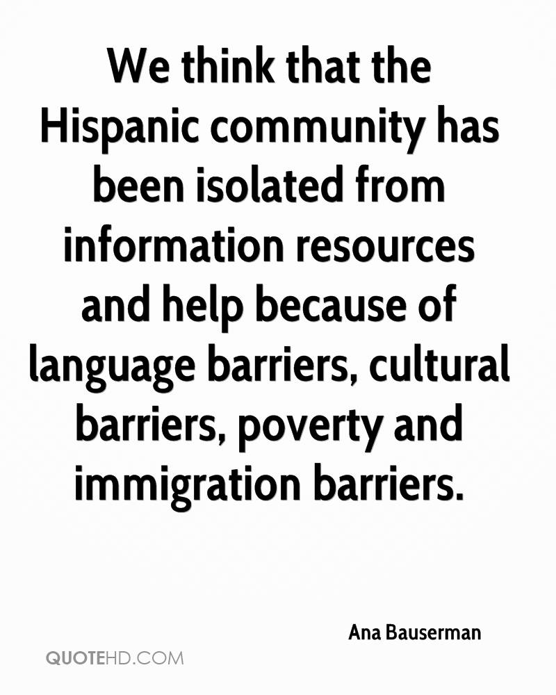 a deviant to the hispanic community Engaging the hispanic community: a health communications perspective j carlos velázquez, ma president hma associates, inc objectives upon completion of today's.