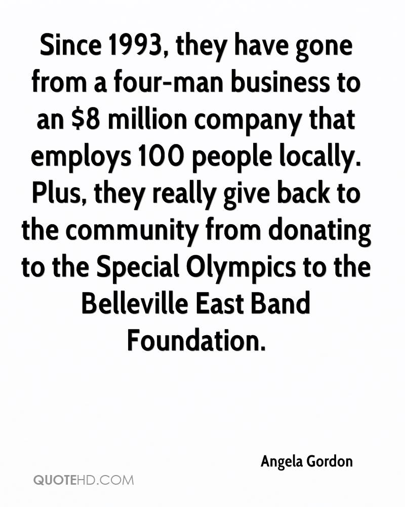 Since 1993, they have gone from a four-man business to an $8 million company that employs 100 people locally. Plus, they really give back to the community from donating to the Special Olympics to the Belleville East Band Foundation.