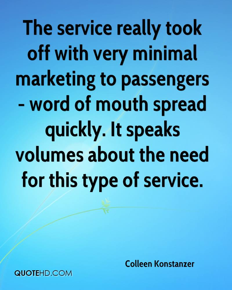 The service really took off with very minimal marketing to passengers - word of mouth spread quickly. It speaks volumes about the need for this type of service.