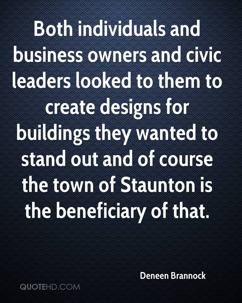 Both individuals and business owners and civic leaders looked to them to create designs for buildings they wanted to stand out and of course the town of Staunton is the beneficiary of that.