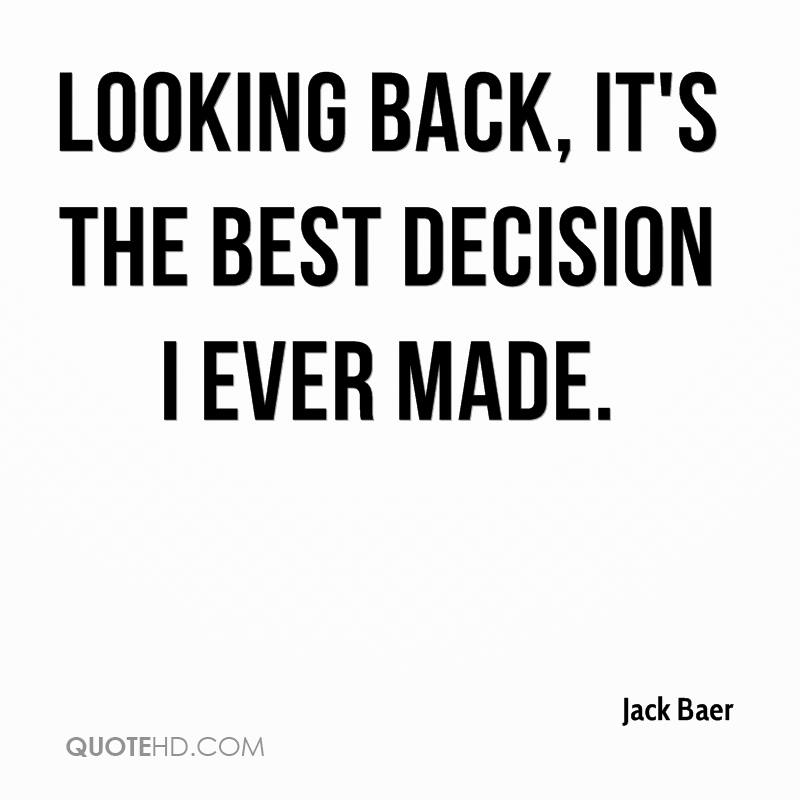 Best Quote Ever: Jack Baer Quotes