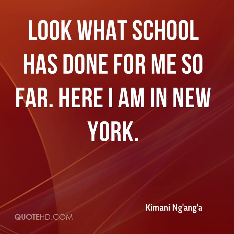 Here Is New York Quotes: Kimani Ng'ang'a Quotes