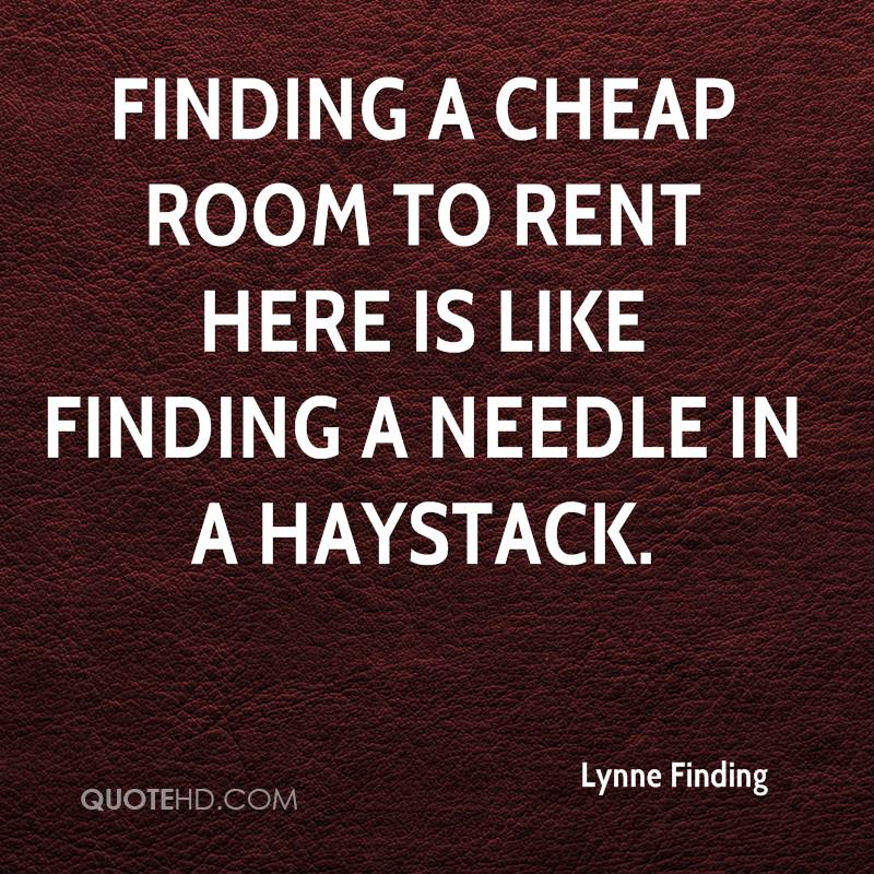 Lynne Finding Quotes QuoteHD Adorable Rent Quotes