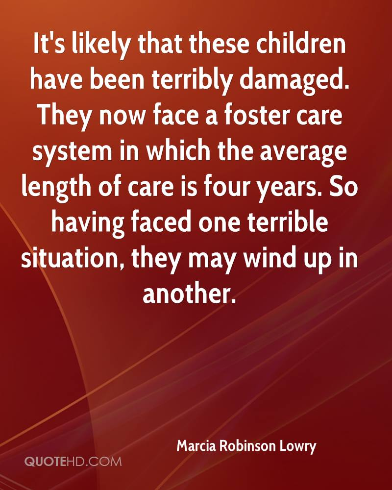 Foster Care Quotes and Sayings