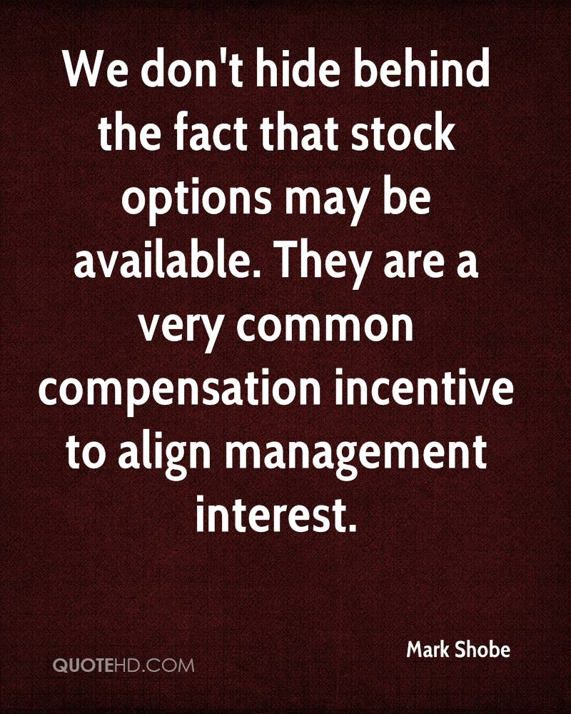 Options Quotes Mark Shobe Quotes  Quotehd