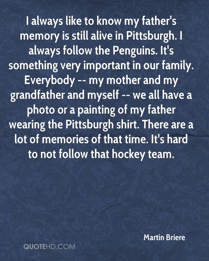 Pittsburgh Quotes Martin Briere Quotes  Quotehd