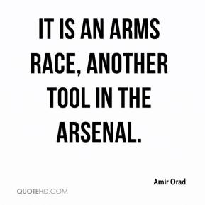 It is an arms race, another tool in the arsenal.
