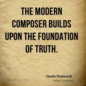 An introduction to the life of claudio monteverdi