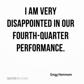 Gregg Hammann - I am very disappointed in our fourth quarter performance. ... During the fourth quarter our manufacturing and go-to-market processes were not able to manage the introduction of six new products during the busy holiday season. This operational issue accounted for the majority of our revenue shortfall.