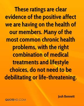 These ratings are clear evidence of the positive affect we are having on the health of our members. Many of the most common chronic health problems, with the right combination of medical treatments and lifestyle choices, do not need to be debilitating or life-threatening.