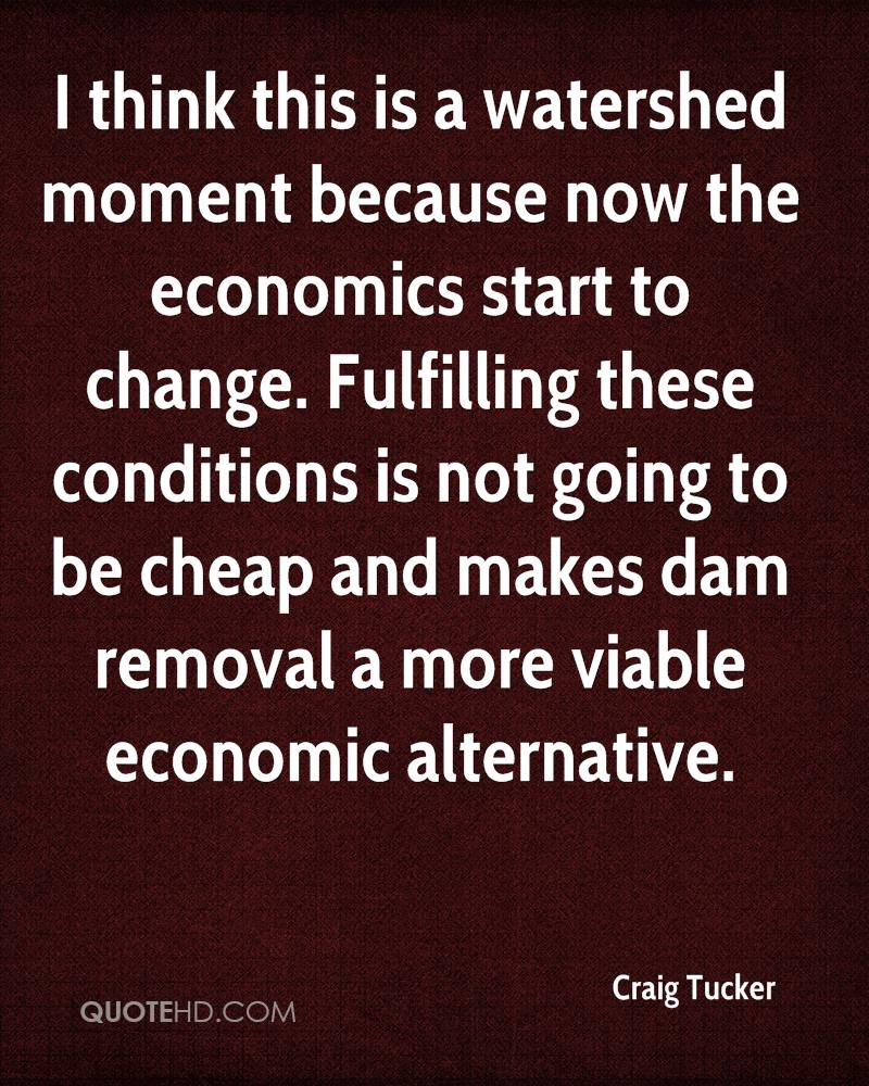 I think this is a watershed moment because now the economics start to change. Fulfilling these conditions is not going to be cheap and makes dam removal a more viable economic alternative.