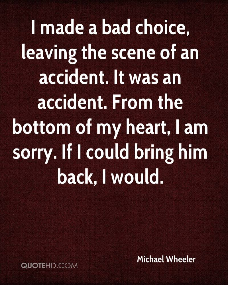 Bring Him Back Quotes: Michael Wheeler Quotes