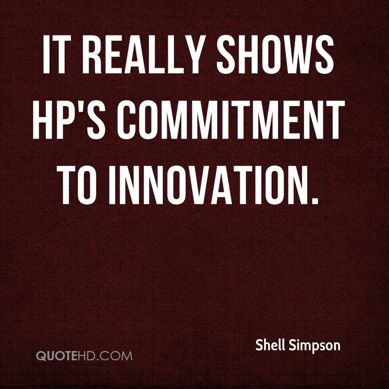 It really shows HP's commitment to innovation.