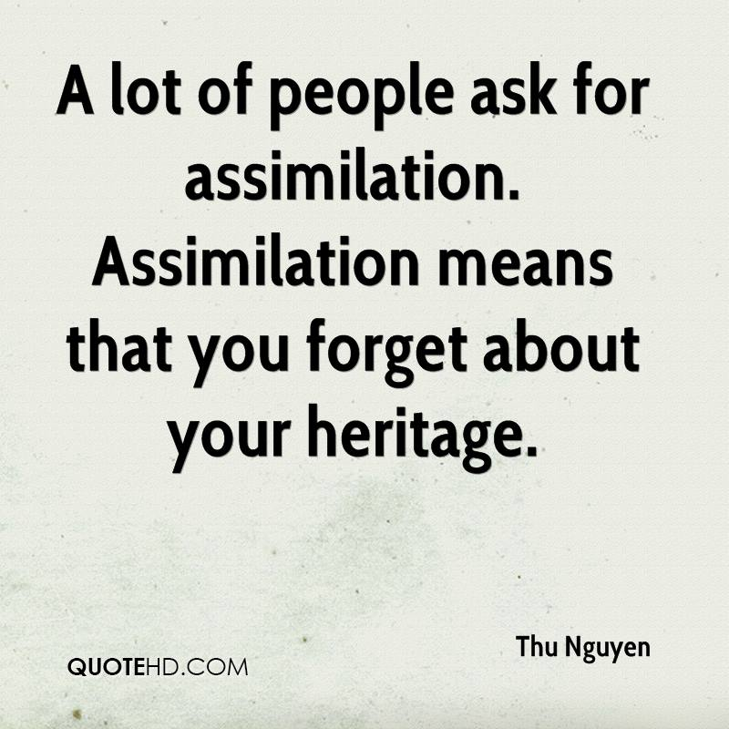 assimilation references to a raisin in Beneatha vs assimilation and heritage your heritage, or the expectation people are faced with assimilation everyday it could be as simple as changing the way you dress to fit in beneatha is faced with this choice in a raisin in the sun.