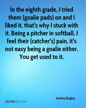 Softball quotes for catchers