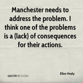 Manchester needs to address the problem. I think one of the problems is a (lack) of consequences for their actions.