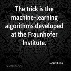 Gabriel Curio - The trick is the machine-learning algorithms developed at the Fraunhofer Institute.