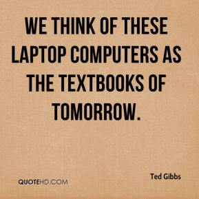 should students textbooks be replaced by notebook computers