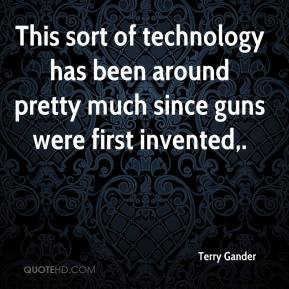 This sort of technology has been around pretty much since guns were first invented.