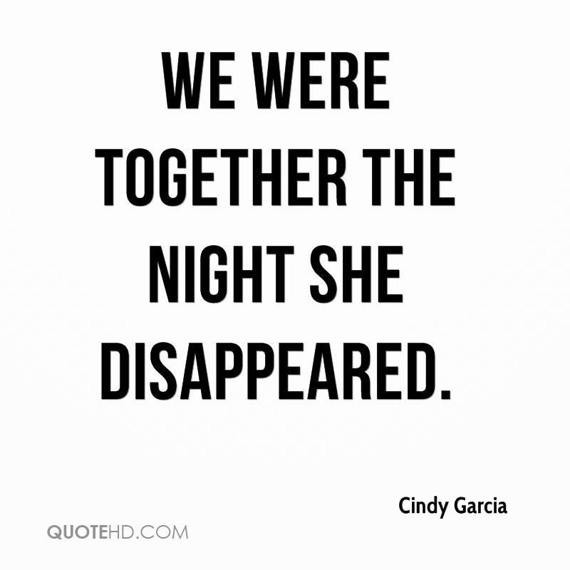 We Were Dating And She Disappeared