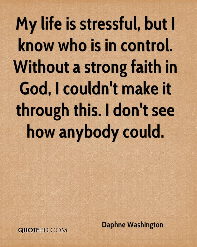 Strong Life Quote Daphne Washington Faith Quotes  Quotehd