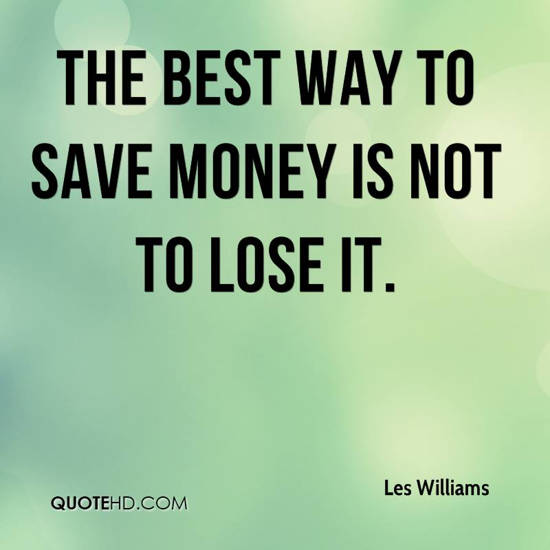 best way to save money to buy a house les williams